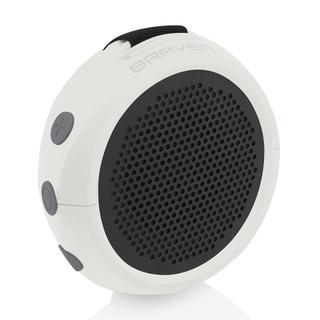 BRAVEN 105 Portable Bluetooth Speaker - White