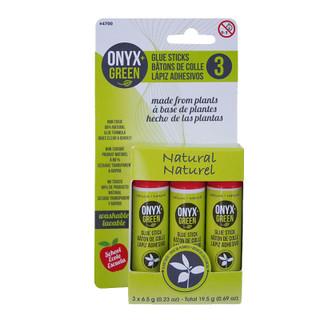 Onyx + Green Natural Glue Sticks - 3 pack