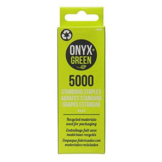 Onyx + Green Standard Staples Refill
