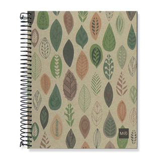 Miquelrius Recycled Notebook - Leaves