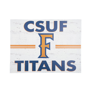 Cal State Fullerton 18 x 24 Lawn Sign