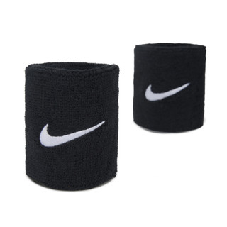Black Swoosh Wristband