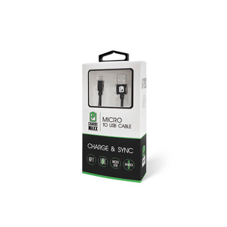 ChargeMaxx Micro USB Cable 6ft - Black