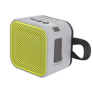 Skullcandy Barricade Mini Bluetooth Speaker - Gray/Hot Lime
