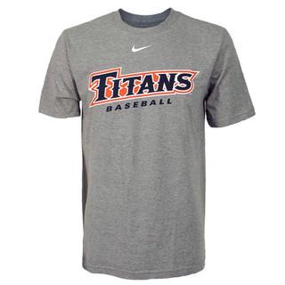 Titans Baseball Nike Tee - Oxford - Medium
