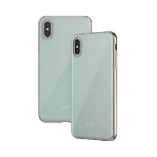 Moshi iGlaze Phone Case - iPhone XS Max - Light Blue