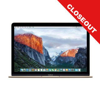 12-inch MacBook 512GB/Gold (Early 2015) - Closeout