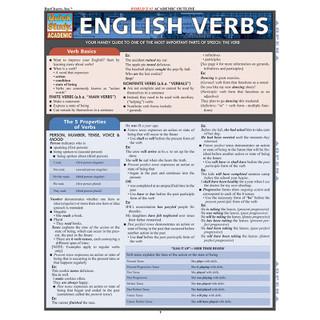 Barcharts English Verbs