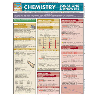 Barcharts Chemistry Equations & Answers