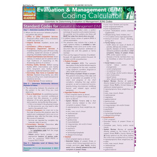 Barcharts Evaluation & Management (E/M) Coding Calculator