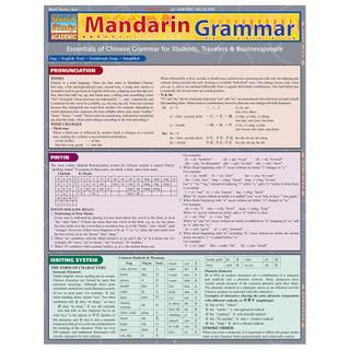 Barcharts Mandarin Grammar