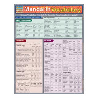 Barcharts Mandarin Vocabulary