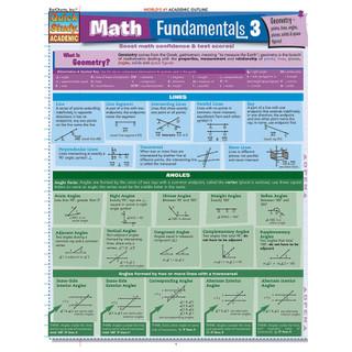 Barcharts Math Fundamentals 3