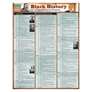 Barcharts Black History: Civil War to Present
