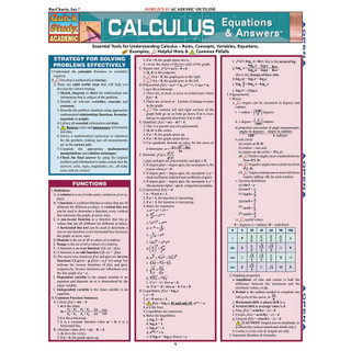 Barchart Calculus Equations & Answers