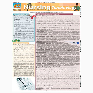 Barcharts Nursing Terminology
