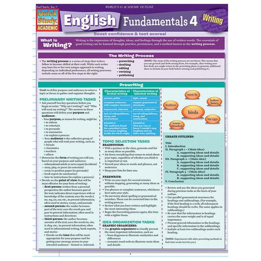 Barcharts English Fundamentals 4