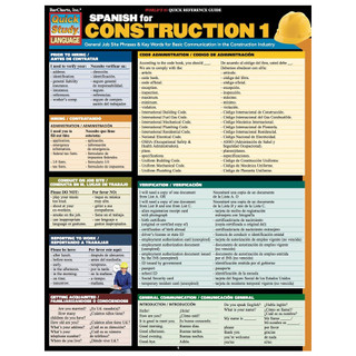Barcharts Spanish for Construction 1