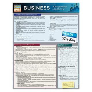 Barcharts Business: Management Leadership