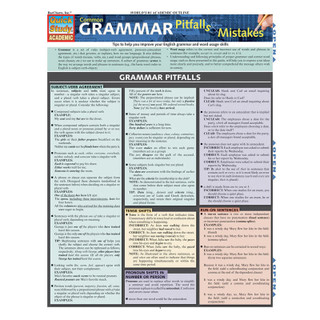 Barcharts Common Grammar Pitfalls and Mistakes