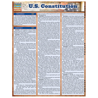 Barcharts U.S. Constitution