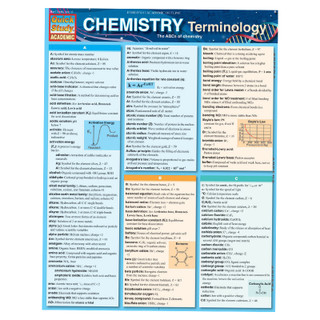 Barchart Chemistry Terminology
