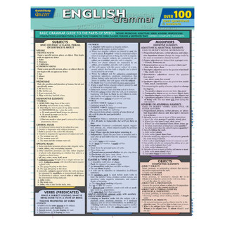 Barcharts English: Grammar