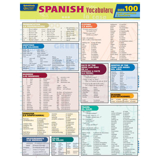 Barcharts Spanish Vocabulary