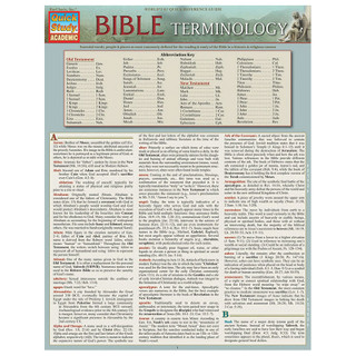 Barcharts Bible Terminology