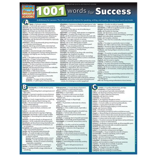 Barcharts 1001 Words for Success
