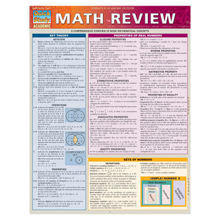 Barcharts Math Review