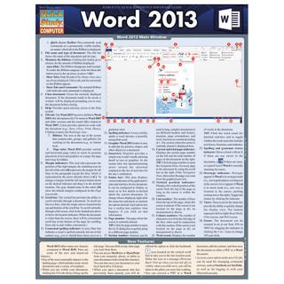 Barcharts Word 2013