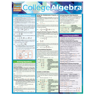 Barcharts College Algebra