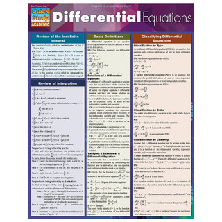 Barcharts Differential Equations