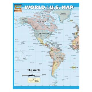 Barcharts World & U.S. Map
