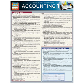 Barcharts Accounting 1