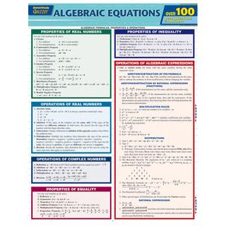 Barcharts Algebraic Equations