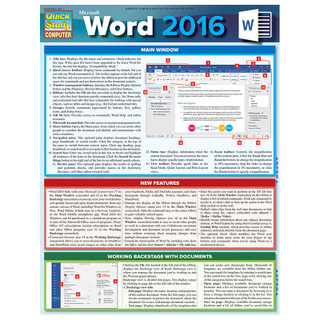 Barcharts Word 2016