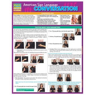 Barcharts American Sign Language Conversation