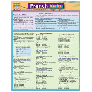 Barcharts French Verbs