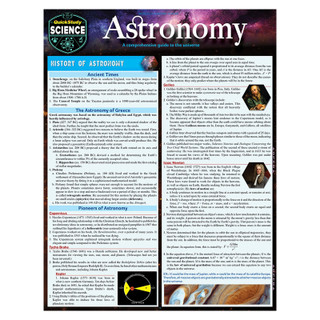 Barcharts Astronomy