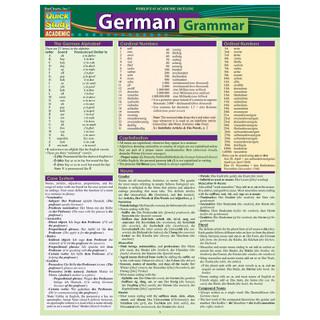 Barcharts German Grammar
