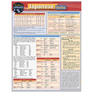 Barcharts Japanese Verbs