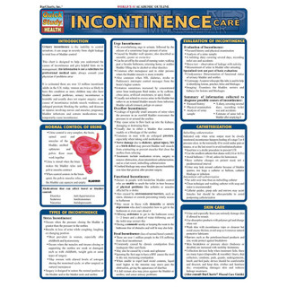 Barcharts Incontinence Care