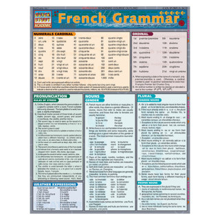 Barcharts French Grammar