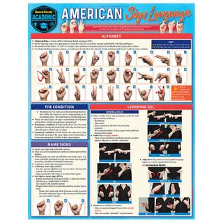 Barcharts American Sign Language