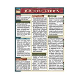 BARCHARTS BUSINESS ETHICS