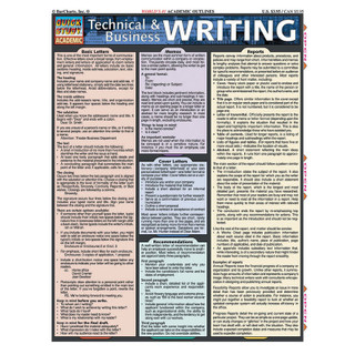 Barcharts Technical & Business Writing
