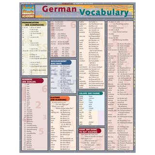 Barcharts German Vocabulary