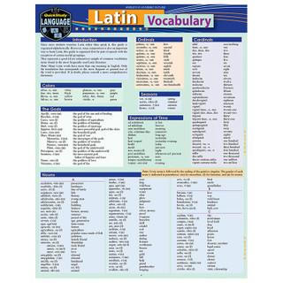 Barcharts Latin Vocabulary